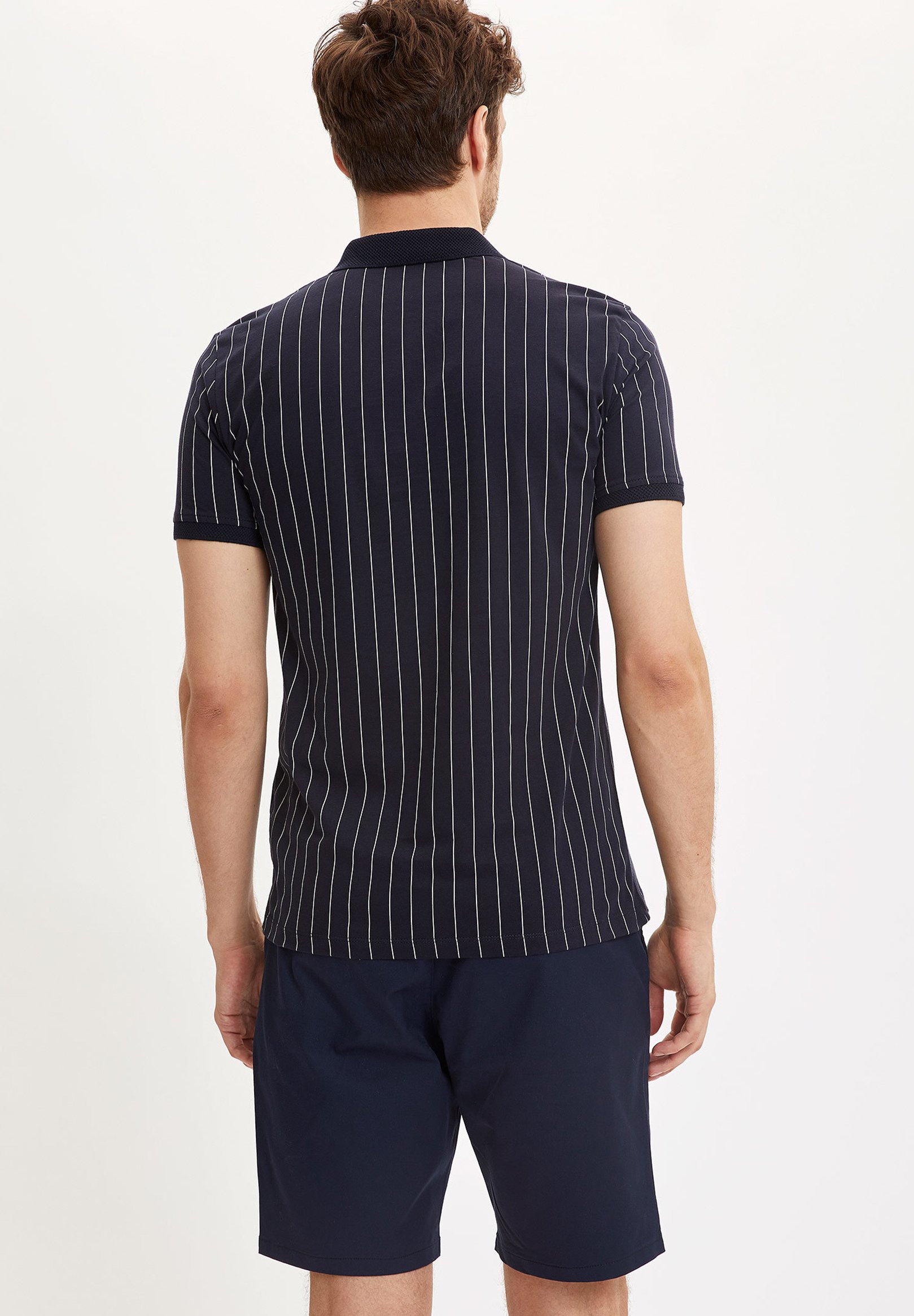 DeFacto Polo shirt - navy ixwYd