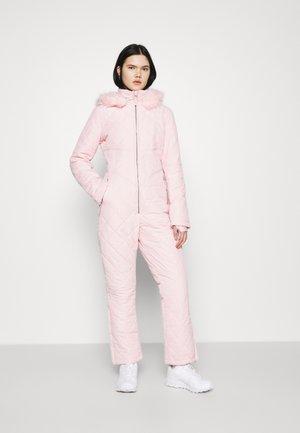 SKI QUILTED CORSET SNOW - Kombinezon - pink
