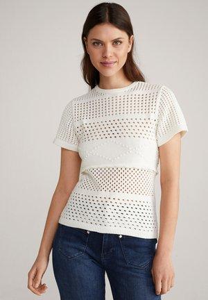 KAREEN - Print T-shirt - weiss