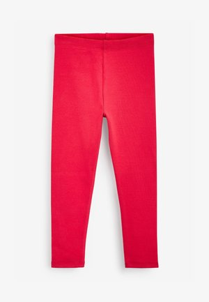 Leggings - Trousers - red