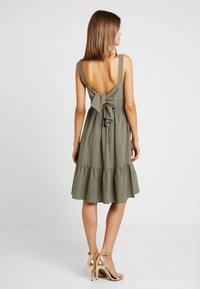 YAS - YASLINE STRAP DRESS - Day dress - botanical garden - 2