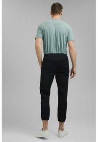 Esprit Collection - FASHION - Tracksuit bottoms - black - 2