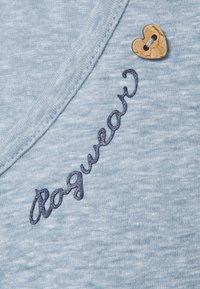 Ragwear Plus - Print T-shirt - dusty blue - 2