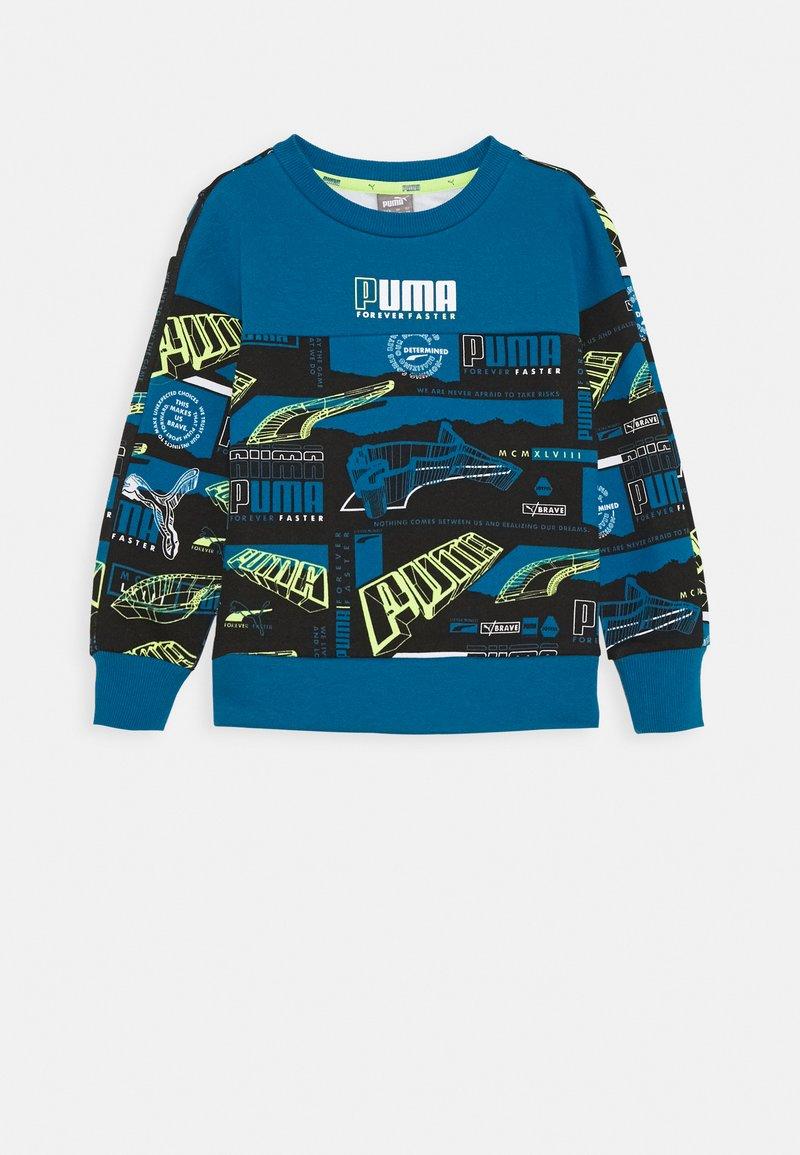Puma - ALPHA CREW - Sweatshirt - digiblue