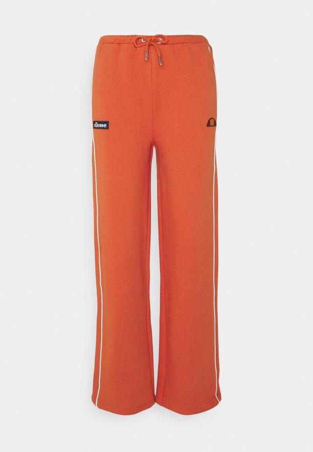 AMITI PANT - Tracksuit bottoms - dark orange