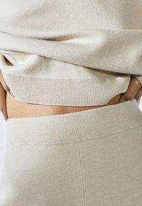 Massimo Dutti - Trousers - beige - 5