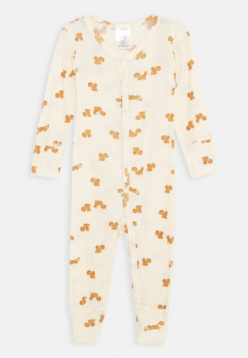 Lindex - ONESIES BABY SQUIRREL UNISEX - Pyjama - light beige