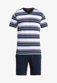 Ceceba - SHORTY V-AUSSCHNITT - Pyjama set - dunkelblau - 4