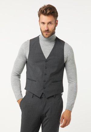 MODERN FIT - Waistcoat - grau