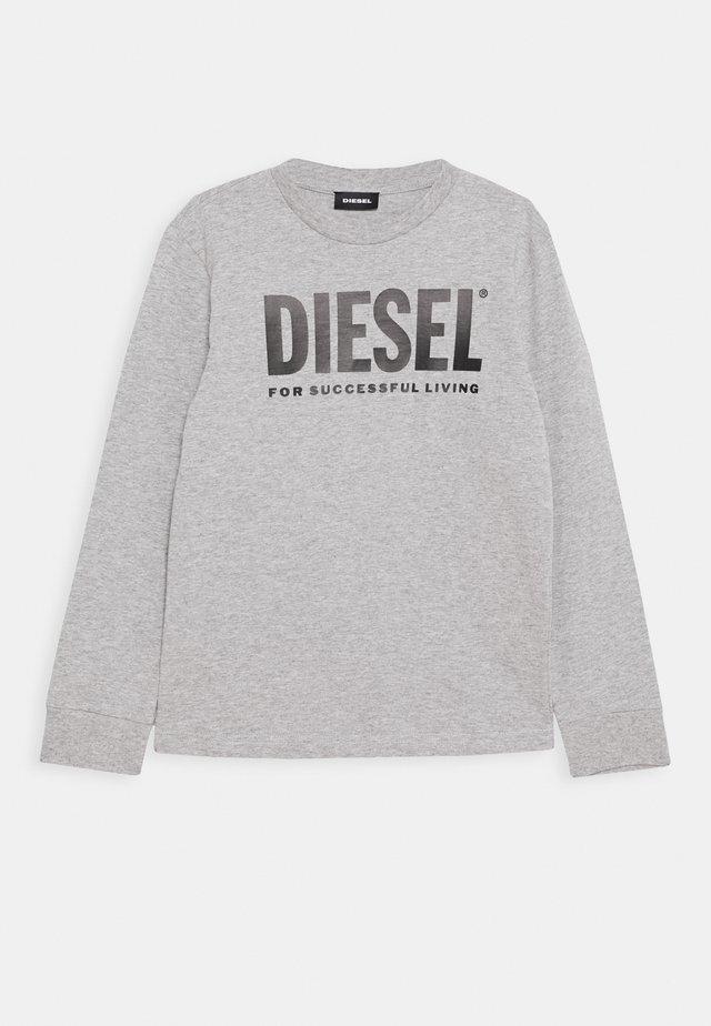 TJUSTLOGO ML MAGLIET UNISEX - Pitkähihainen paita - grigio melange nuovo