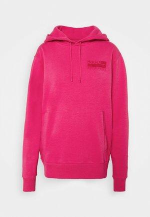 Hoodie - bright pink
