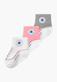 Converse - CHUCK INFANT QUARTER 3 PACK - Calze - coastal pink - 0