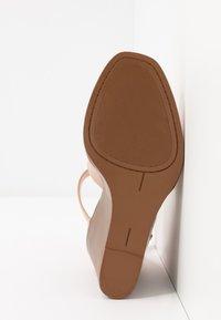 Madden Girl - GARLAND - High heeled sandals - dark nude - 6