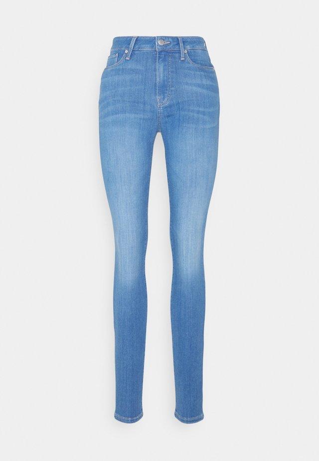 SOFT HARLEM - Skinny džíny - blue denim