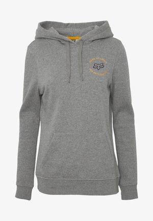 FLUTTER  - Bluza z kapturem - mottled grey
