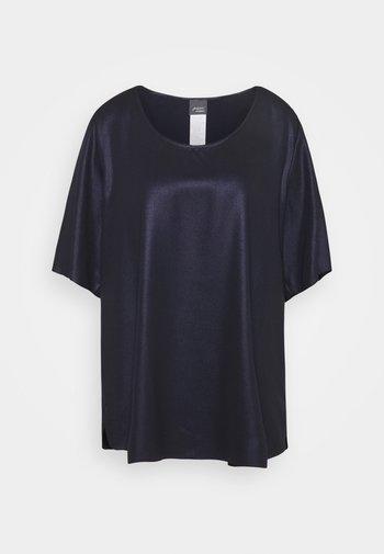 BARI - Print T-shirt - blue/black