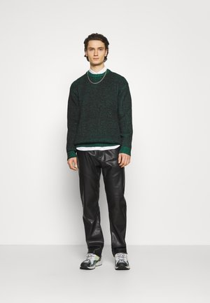 OSCAR - Jumper - black/green