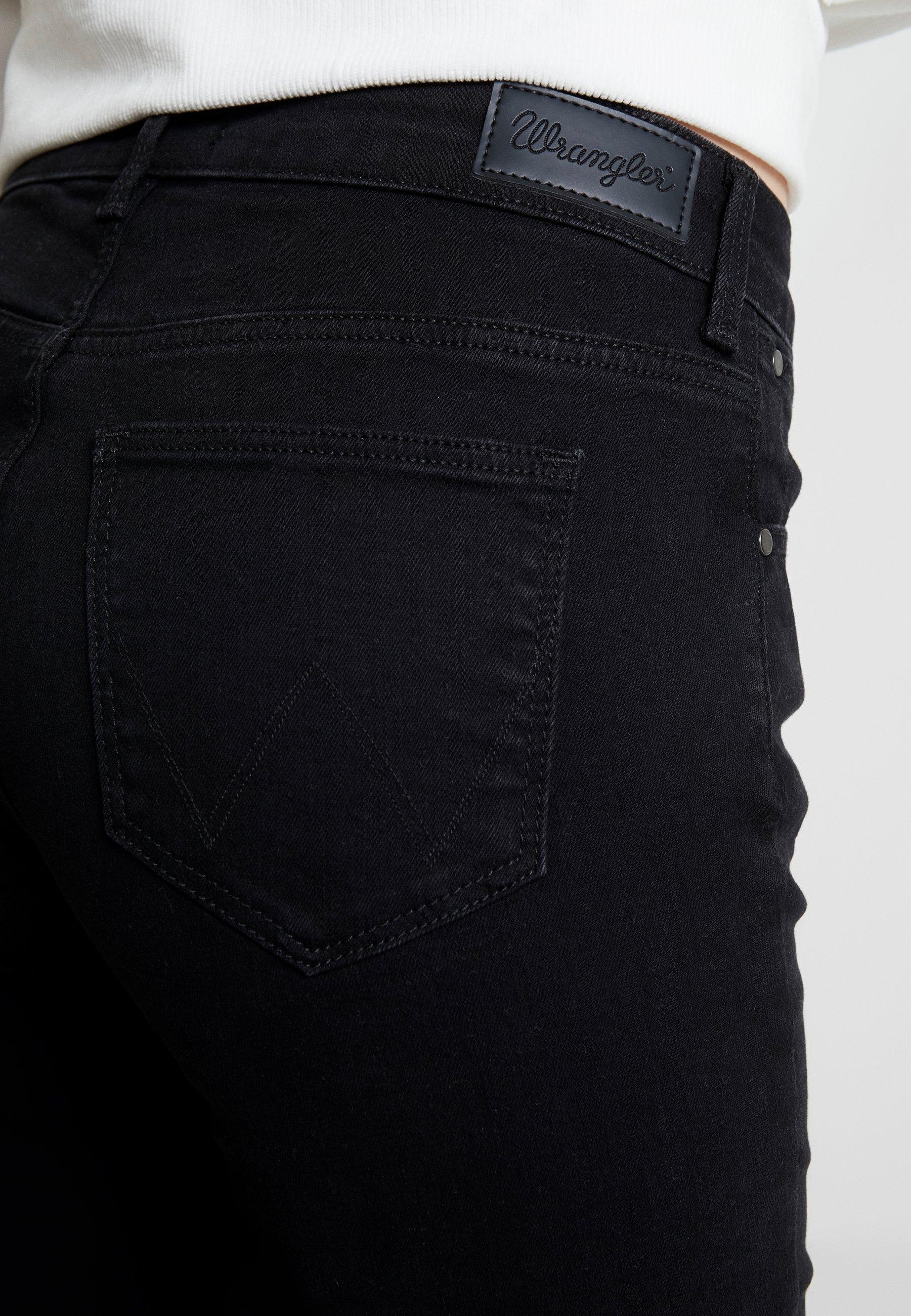 Wrangler BODY BESPOKE - Jean bootcut - black - Jeans Femme qwldx