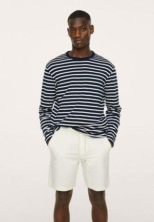 Long sleeved top - marineblauw