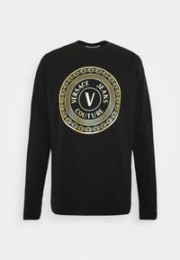 Versace Jeans Couture - LOGO - Long sleeved top - black/gold - 4