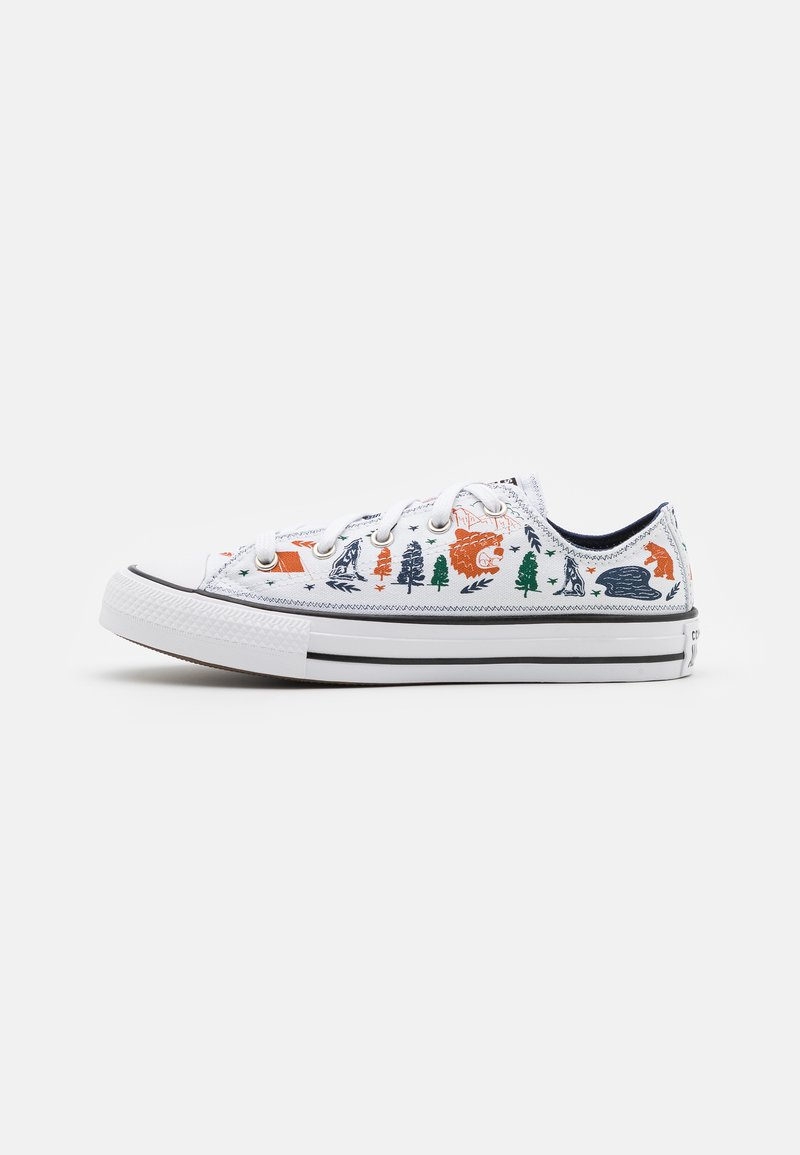 Converse - CHUCK TAYLOR ALL STAR UNISEX - Sneakers - white/midnight navy/black