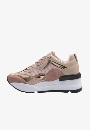 WOMAN ROSE GOLD FASHION SNEAKER 21S-0331FX - Sneakers - rose gold