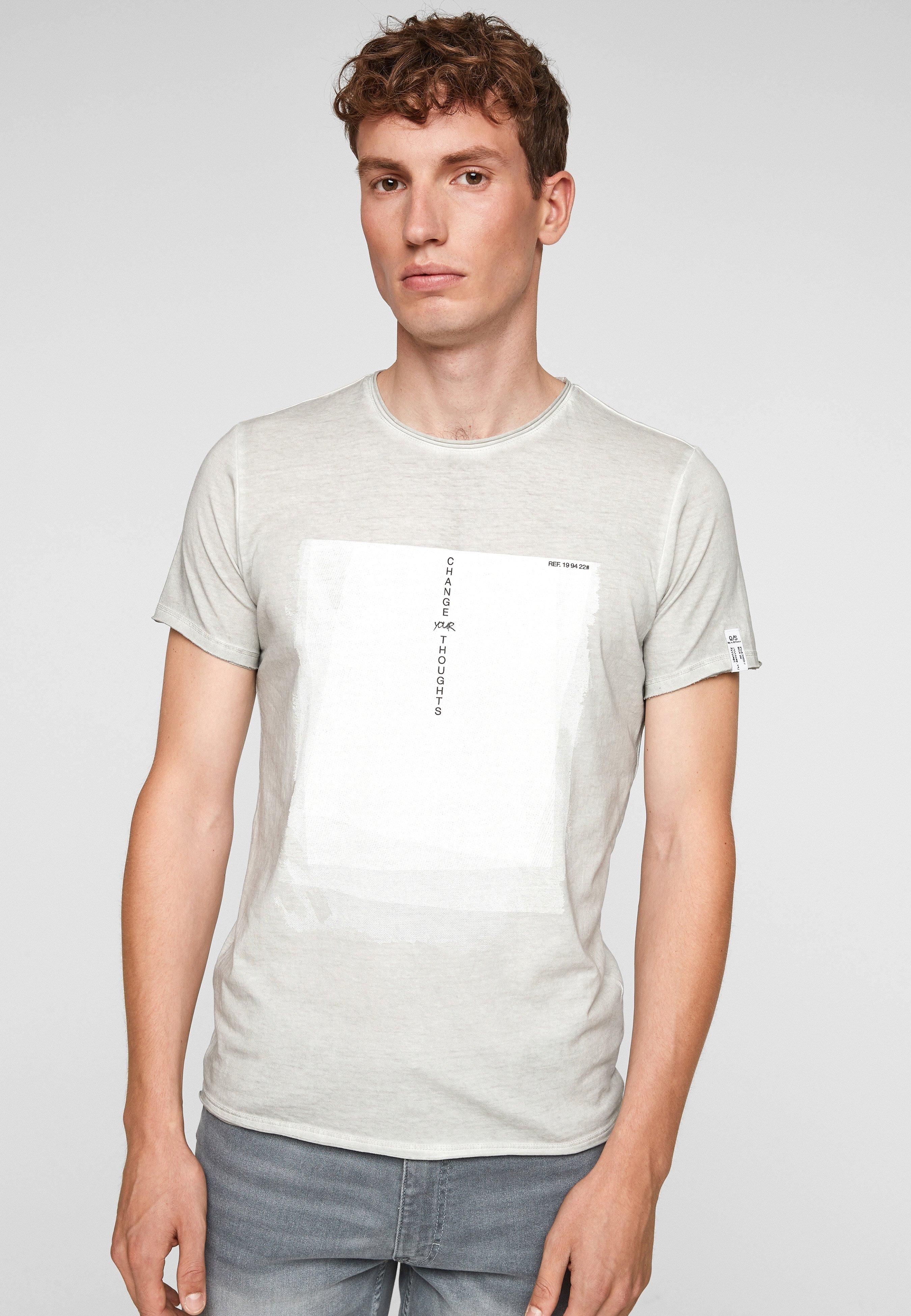 Homme MET USED LOOK - T-shirt imprimé