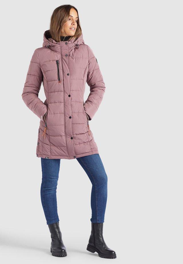 DELINAS - Cappotto invernale - beige-rosa