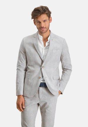 Blazer jacket - lightgrey/cream