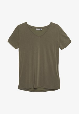 Print T-shirt - hedge
