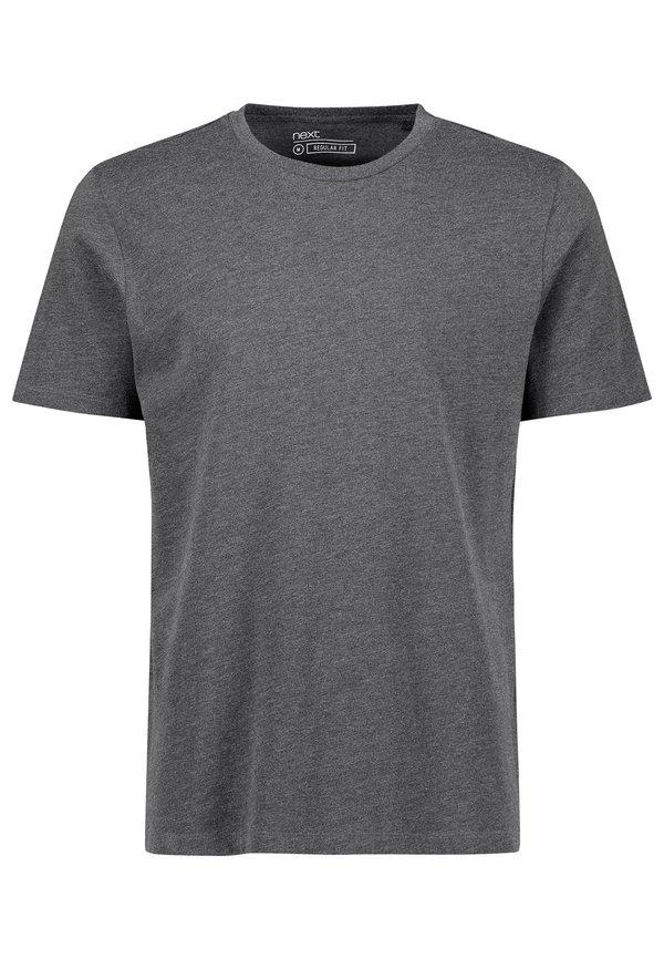 Next T-shirt basic - grey/szary Odzież Męska AFUB