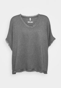 Esprit - PONCHO CROP - Cape - grey - 0