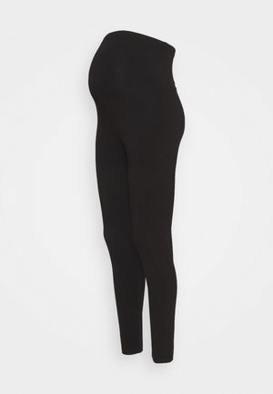 MATERNITY - Leggings - black