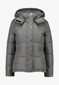 Hollister Co. - ELEVATED CORE PUFFER JACKET - Light jacket - grey - 3