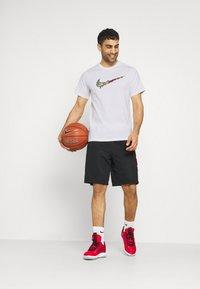 Nike Performance - FRAN TEE - Print T-shirt - white - 1