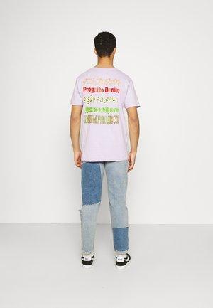 MOJO TEE - T-shirt med print - pastel lilac