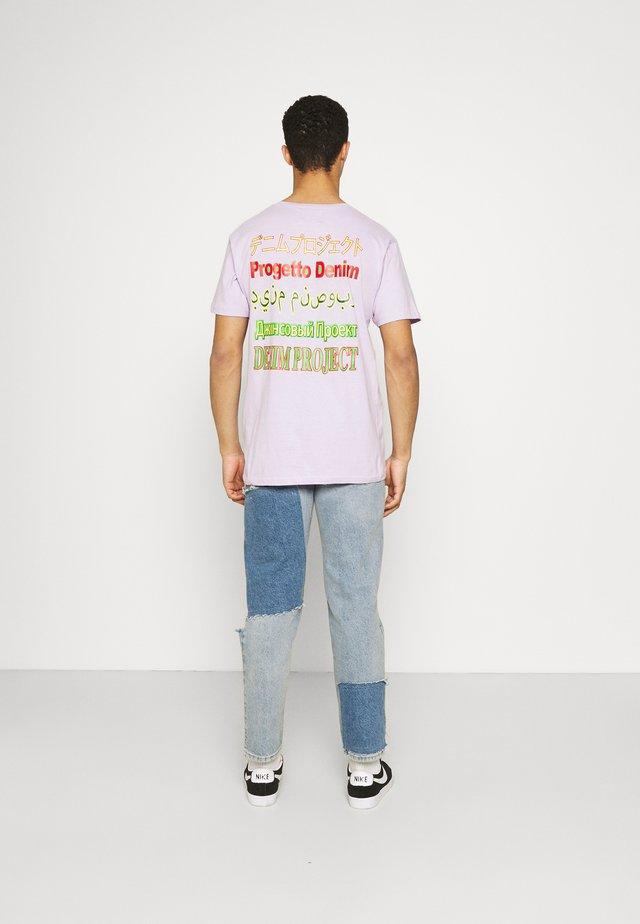 MOJO TEE - Print T-shirt - pastel lilac