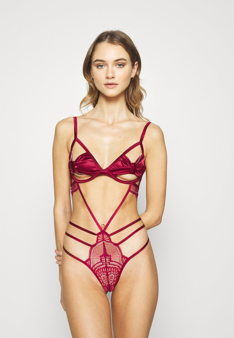 Hunkemöller - QUEENIE - Body - rumba red