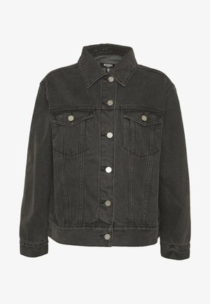 JACKET - Džínová bunda - black