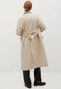 Mango - VENUS - Płaszcz wełniany /Płaszcz klasyczny - ecru - 2