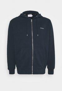 Calvin Klein - veste en sweat zippée - blue - 0