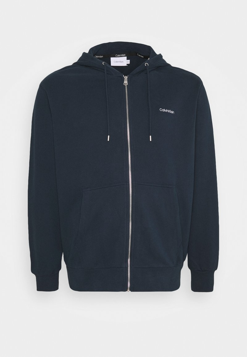 Calvin Klein - veste en sweat zippée - blue