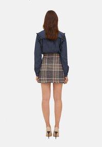 Motivi - Button-down blouse - blu - 2