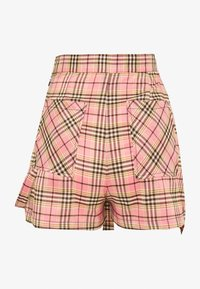 The Ragged Priest - CHECK WRAP OVER SKORT WITH STRAP - Shorts - pink - 1