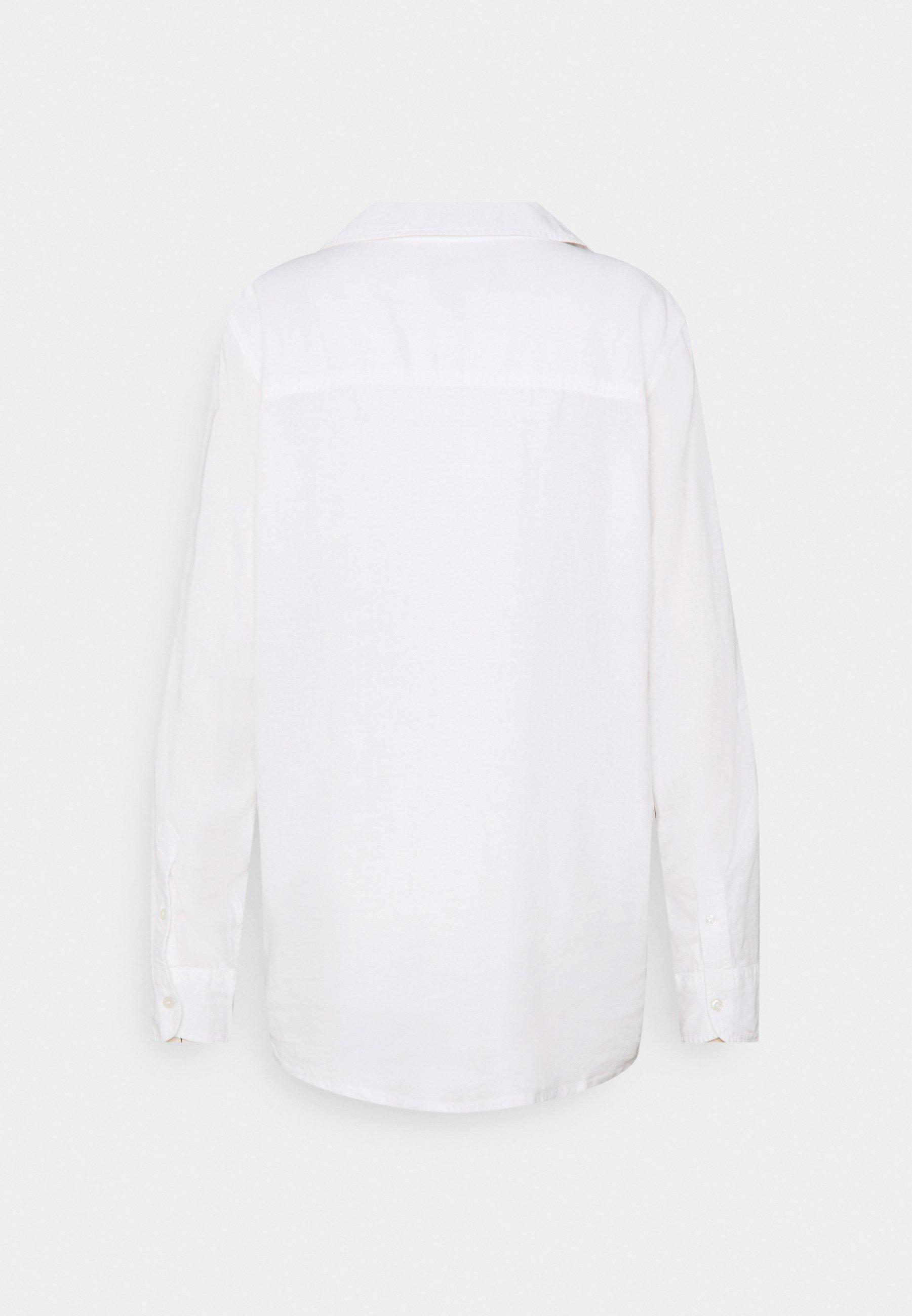 Abercrombie & Fitch Skjorte white Zalando.no