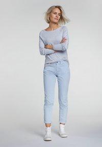 Oui - Slim fit jeans - zen blue - 1