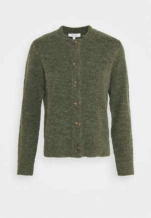 MARTINE CARDIGAN - Cardigan - olive night