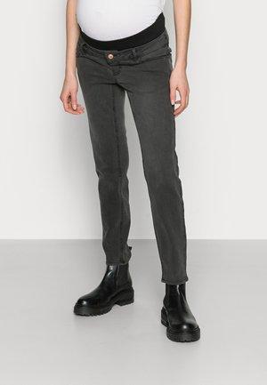 PCMLILA - Slim fit jeans - black denim
