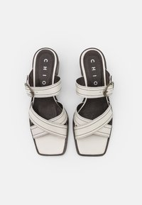 Chio - Heeled mules - offwhite poncho - 4