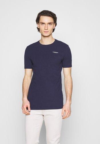 SLIM BASE R T S\S - T-shirt basic - sartho blue